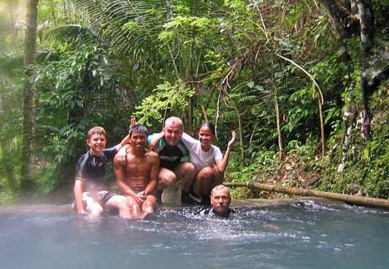 Ichon Caves swimming pool