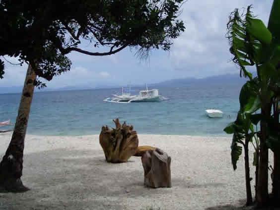 Sogod Bay View from Sogod Bay Scuba Resort cottages